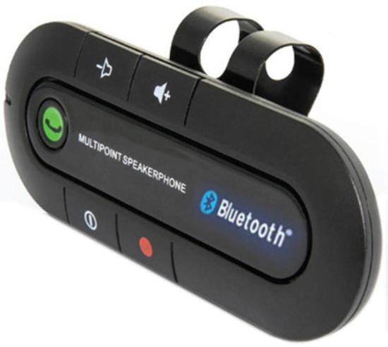 Bluetooth Carkit - Bereikbaar onderweg - Handsfree Bellen - Veilig achter het stuur!