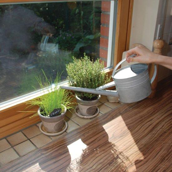 Gieter zink voor binnenshuis - 1,6 liter - set van 2 stuks