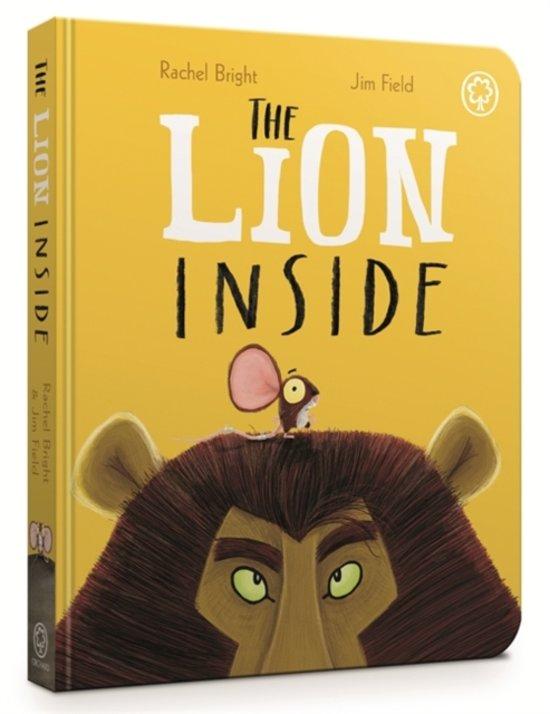 Boek cover The Lion Inside Board Book van Rachel Bright (Hardcover)