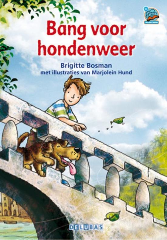 Boek cover Samenleesboeken - Bang voor hondenweer van Brigitte Bosman (Hardcover)