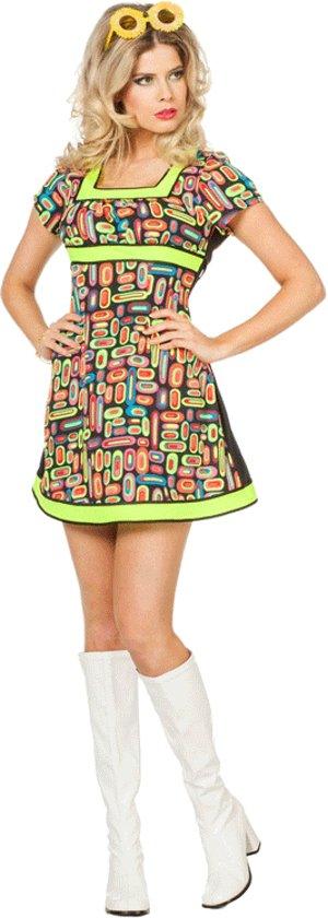 Sexy neon jurk voor dames 36 (s)