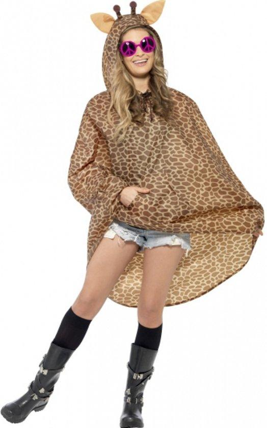 Party regenponcho giraffe