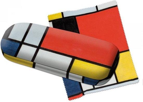 Brillenkoker Piet Mondriaan