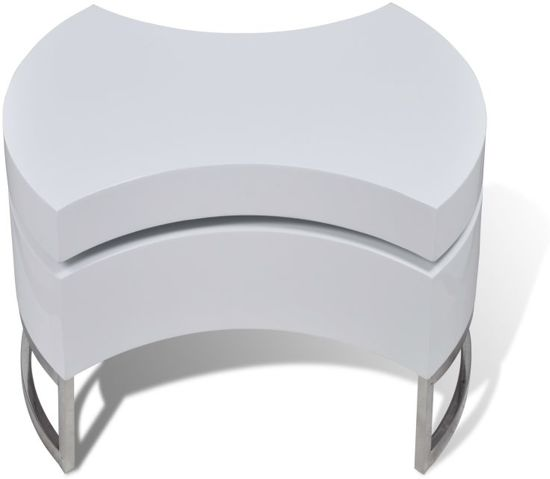 Spiksplinternieuw bol.com | Salontafel multifunctioneel design wit YD-92