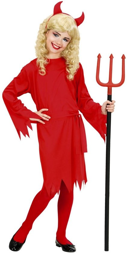 Halloween Verkleedkleding Kind.Bol Com Duivel Kostuum Schattig Duivel Meisje Rood Kind