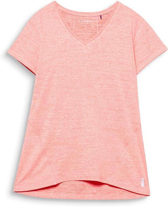 Esprit Sportshirt 077EI1K005 T-Shirts-Dames-Maat-XS-oranje