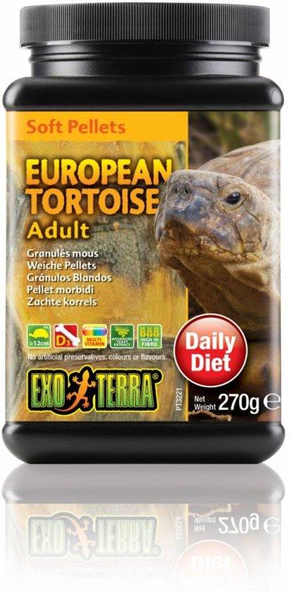 Soft Pellets Europese Schildpad 270 gram