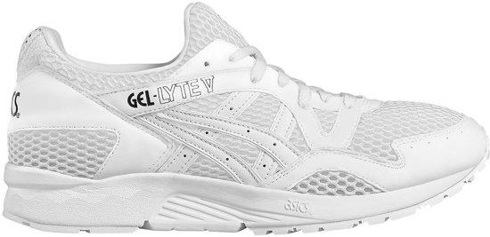 Chaussures De Sport Gel Asics Lyte V De Taille Des Hommes Blancs 36 eLwolS5d9