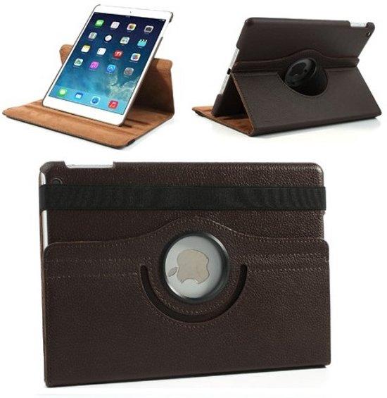 iPad Pro 2 - 9.7 inch - 360 Graden draaibare Hoes - Lederen - Bruin in Formerum aan Zee / Formearum oan See