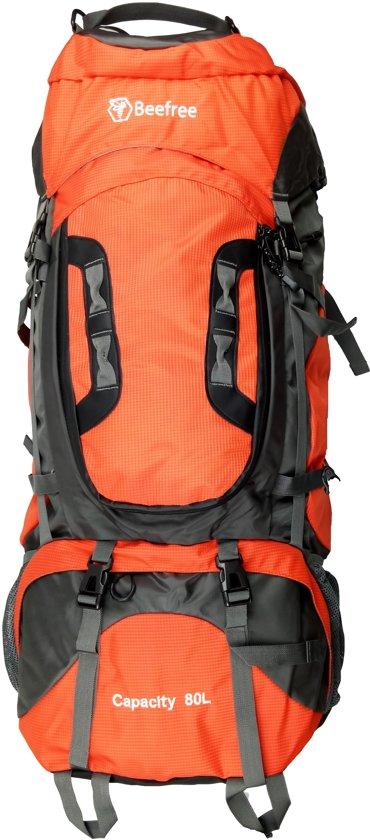 Beefree 80 Liter nylon Backpack - Oranje