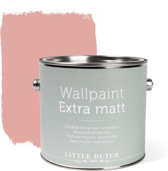 Little Dutch - Muurverf Mat - Vintage Pink - Roze - 2,5 liter