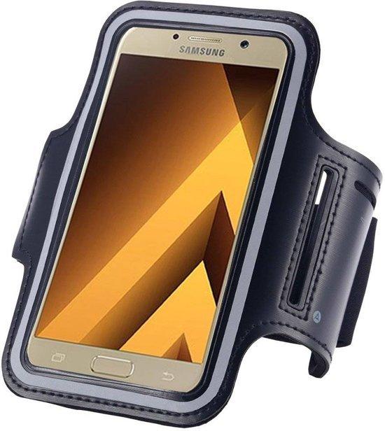 Pearlycase Hoesje Sportband Hardloop armband Zwart voor Samsung Galaxy S10