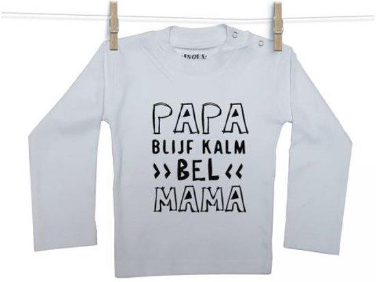 50/56 Papa blijf kalm shirt WL
