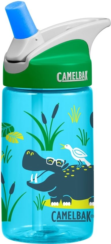 5d417a94757 bol.com   Camelbak Eddy Kids Drinkfles - 400 ML - Hip Hippoes