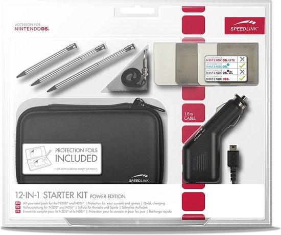Speedlink 12-in-1 Accessoirepakket Zwart 3DS + Dsi kopen