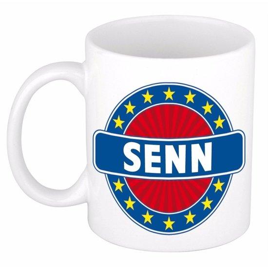 Senn naam koffie mok / beker 300 ml  - namen mokken
