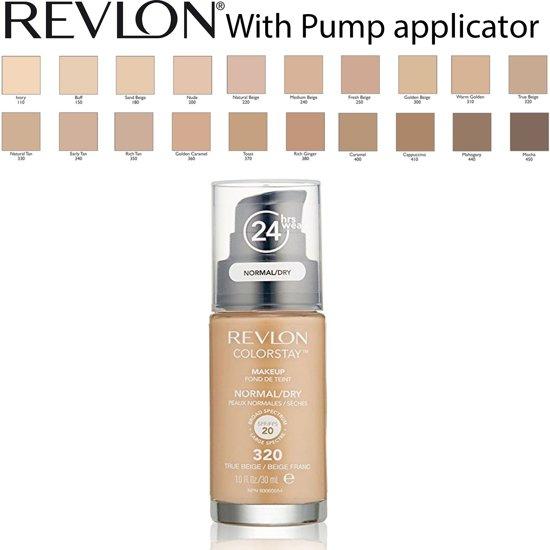 Revlon Colorstay Foundation With Pump Dry Skin - 320 True Beige