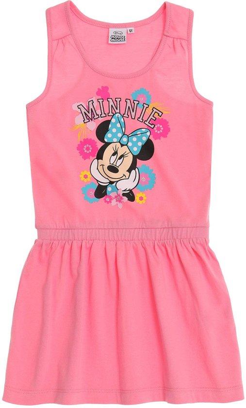 86e48b9b19ba41 Disney-Minnie-Jurk-fuchsia-maat-134
