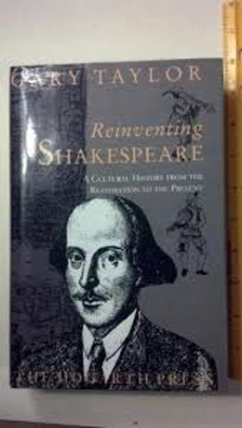 Reinventing Shakespeare.