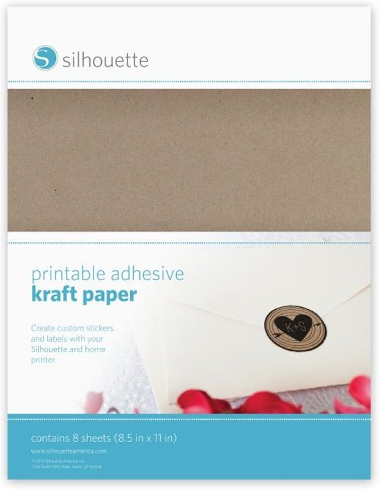 Printable Kraft Paper (Silhouette Cameo of Curio)