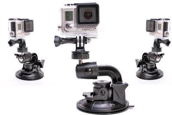 Suction Cup Zuignap Go Pro Hero - geschikt voor GoPro