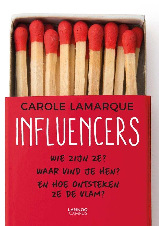 Boek cover Influencers van Carole Lamarque (Onbekend)