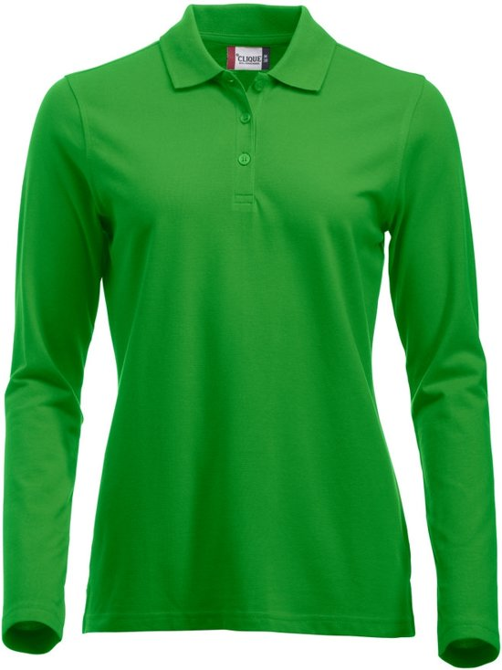 Classic Marion ds polo LM grasgroen s