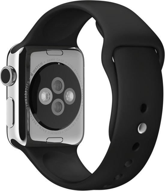 Sportbandje voor de Apple Watch - 38 mm - Zwart