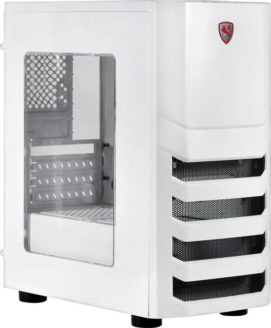 Desktop micro ATX Behuizing I5 Wit/Zwart