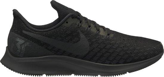 Nike Air Zoom Pegasus 35 Hardloopschoenen Dames - Black/Oil Grey-White