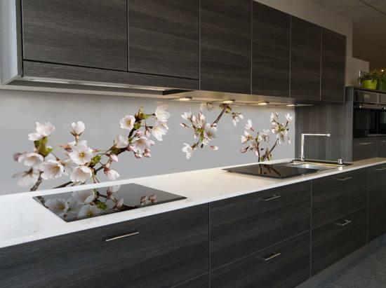 Bol keuken achterwand japanse kers bloesem cm
