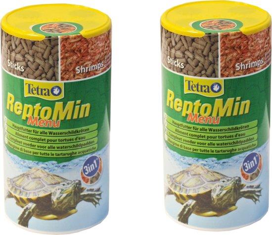 Tetra Reptomin Menu 250 ml voordeelverpakking 2stuks