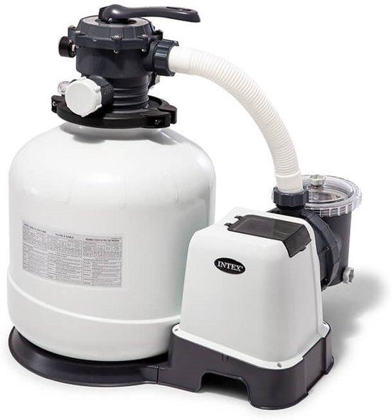 Intex Zandfilterpomp 220-240v 10m3 Liter Per Uur Wit