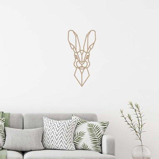 Wanddecoratie Haas - Bruin
