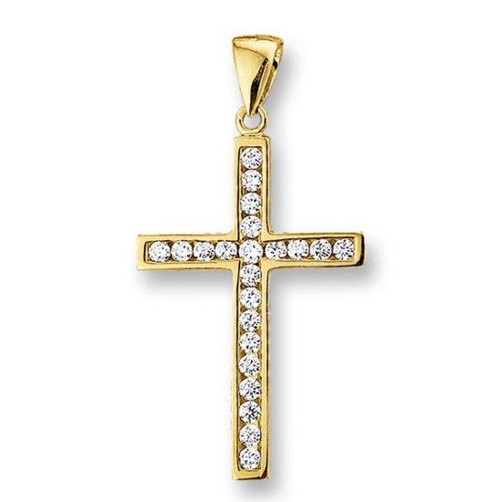 Huiscollectie 4009571 Gouden bedel kruis
