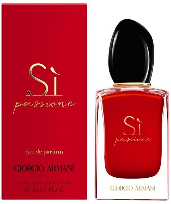 Armani Si Passione Edp Spray 50 ml
