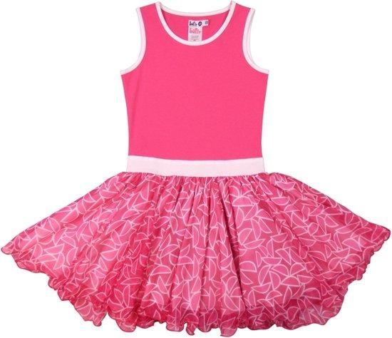 578cdfb3560d7f LoFff Z8019-04 Jurk Dancing Dress - Felroze - Maat 104