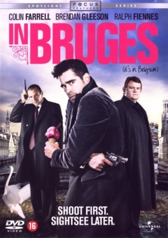 DVD cover van IN BRUGES
