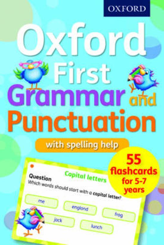 Bol Oxford First Grammar And Punctuation Flashcards Jenny