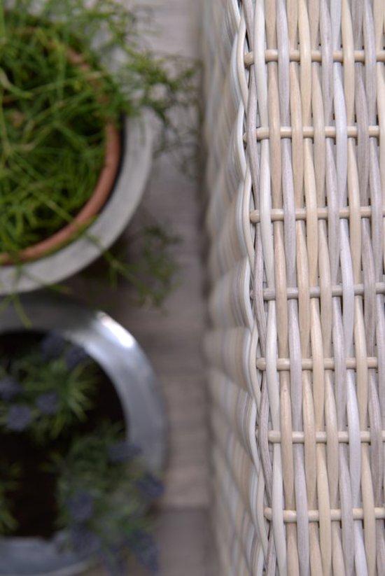 Garden Impressions Tennessee lounge bank L225 cm ecru kleur