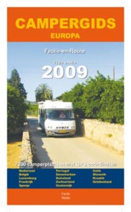 Campergids Europa 2009 - nvt |