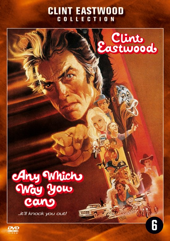 Cover van de film 'Any Which Way You Can'