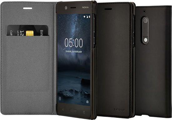 size 40 1221c 39610 Nokia Slim Flip Case - zwart - voor Nokia 5 (2017 editie)
