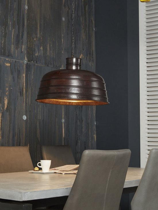 Industri le hanglamp voronezj eetkamertafel for Kleine industriele hanglamp