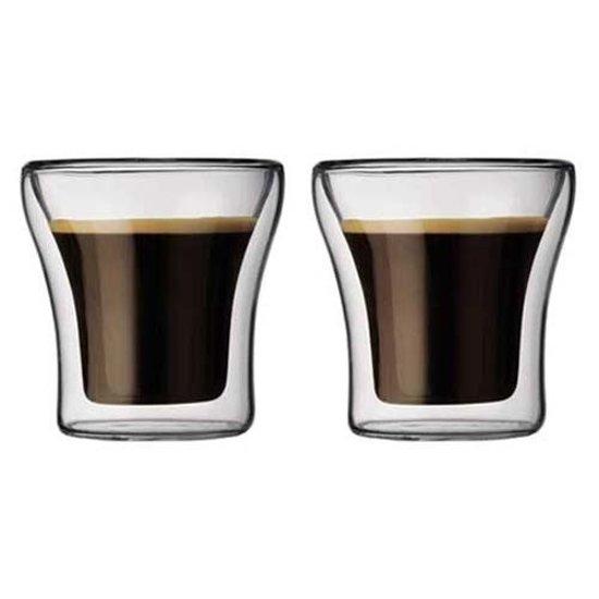 Bodum Assam Dubbelwandig Glas - Klein - 200 ml - 2 stuks