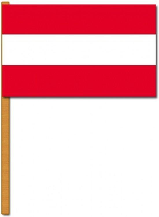 Luxe zwaaivlag Oostenrijk