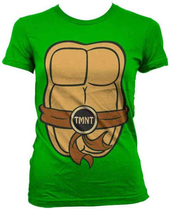 Ninja Turtles - Costume dames T-shirt groen - M - Hybris
