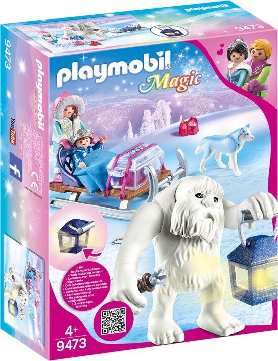 PLAYMOBIL Yeti met slee - 9473