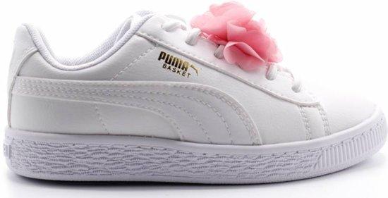 0dfb7d30cf7 bol.com | Basket Flower AC PS / Puma White-Pale Pink - maat 34