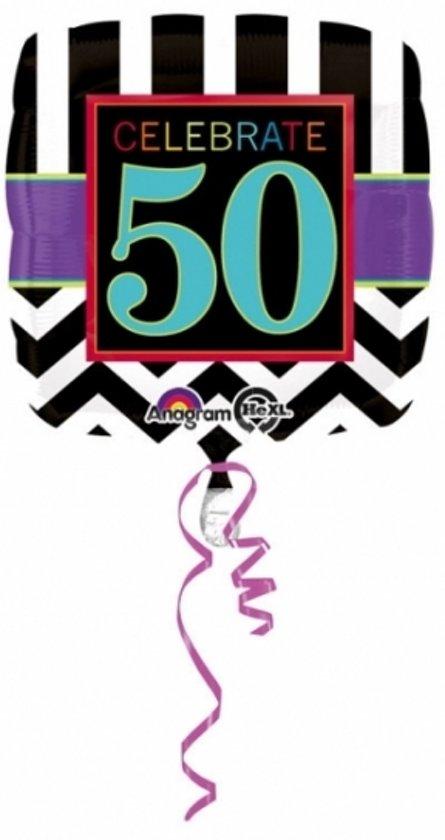 Bol Com Folie Ballon 50 Jaar 43 Cm 50ste Verjaardag Helium